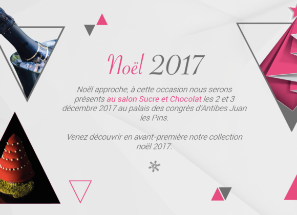 Participation au Salon Sucre et Chocolat